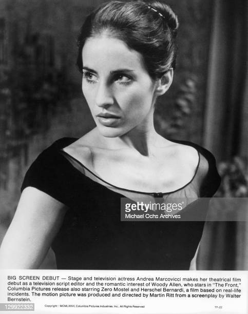 Andrea Marcovicci in a scene from the film 'The Front' 1976