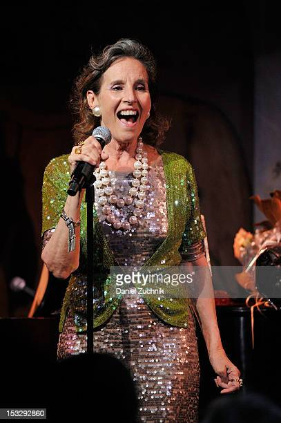 Andrea Marcovicci performs during the Cabaret Opening Night on October 2 2012 in New York City