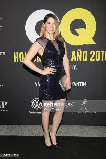 Andrea Marti attends GQ Mexico Men of the Year Awards 2018 at Centro Cultural Roberto Cantoral on October 31 2018 in Mexico City Mexico