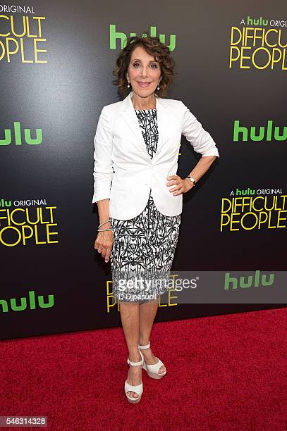 Andrea Martin attends the Difficult People New York premiere at The Metrograph on July 11 2016 in New York City