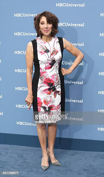 Andrea Martin attends the NBCUNIVERSAL 2016 Upfront presentation at Radio City Music Hall on May 16 2016 in New York City