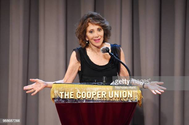 Andrea Martin performs at the Concert For America Stand Up Sing Out at The Great Hall at Cooper Union on June 30 2018 in New York City