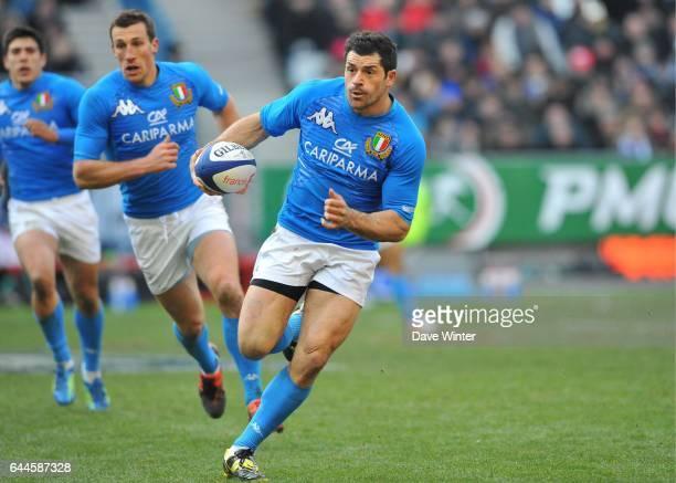Andrea MASI France / Italie Tournoi des VI Nations Stade de FranceParis Photo Dave Winter / Icon Sport