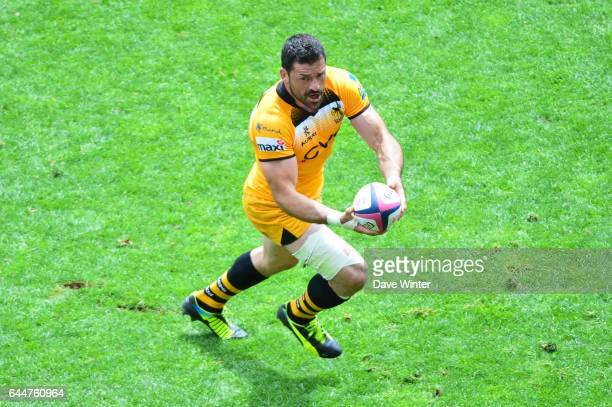 Andrea MASI Stade Francais / London Wasps Barrage retour Coupe d'Europe photo Dave Winter / Icon Sport