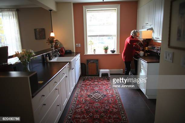 TORONTO ON October 31 Andrea Mathieson is the owner of The Rupert House in her kitchen A piece of Torontoarea history is on the market Rupert House...