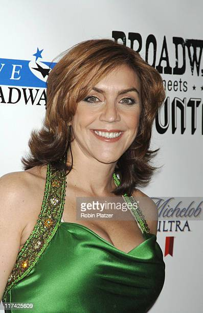 Andrea McArdle during Country Takes New York City - Broadway Meets Country - Outside Arrivals at Allen Room, Jazz at Lincoln Center in New York City,...