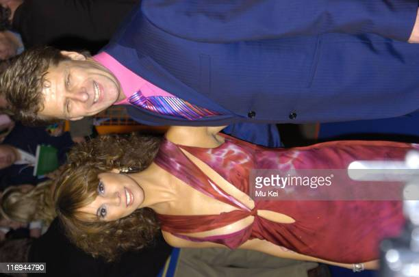 Andrea Mclean and Andrew Castle during National Television Awards 2005 at Royal Albert Hall London in London United Kingdom
