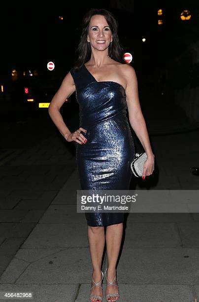 Andrea McLean attends a celebration of Lorraine Kelly's 30 years in breakfast television at Langham Hotel on October 1 2014 in London England