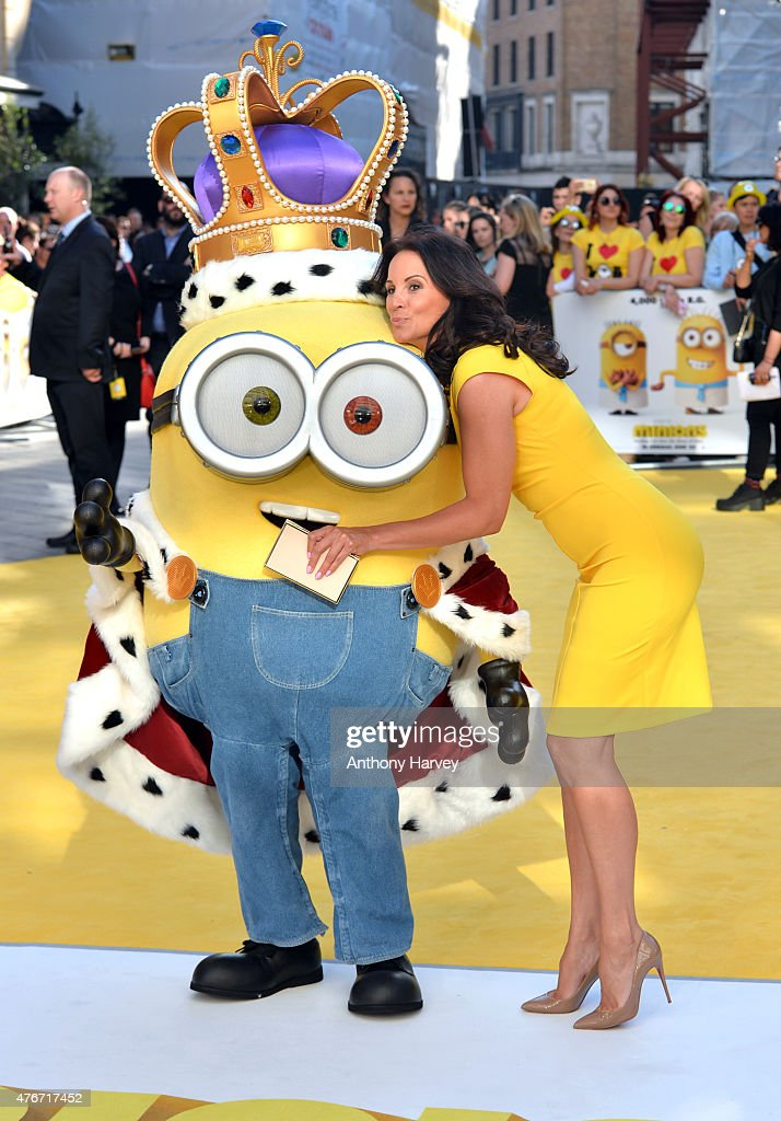 Andrea McLean attends the World Premiere of 'Minions' at Odeon Leicester Square on June 11, 2015 in London, England.