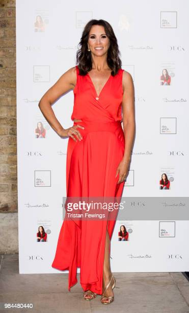 Andrea McLean hosts party to launch her new book Confessions of a Menopausal Woman at Devonshire Club on June 26 2018 in London England