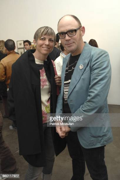 Andrea Minton and William Taylor attend SHE Images of women by Wallace Berman and Richard Prince Opening at Michael Kohn Gallery on January 15 2009...