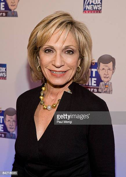 Andrea Mitchell attends salute to Brit Hume at Cafe Milano on January 8, 2009 in Washington, DC.