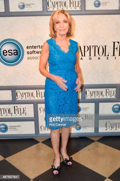 Andrea Mitchell attends the Capitol File's WHCD Welcome Reception at The British Embassy on May 2 2014 in Washington DC