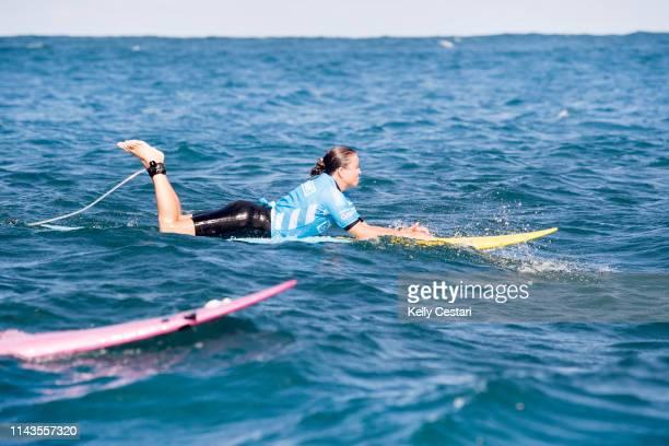 Andrea Moller of Brazil competing in the inaugural 2016 BWT Women's Pe'ahi Challenge at Haiku Maui Hawaii