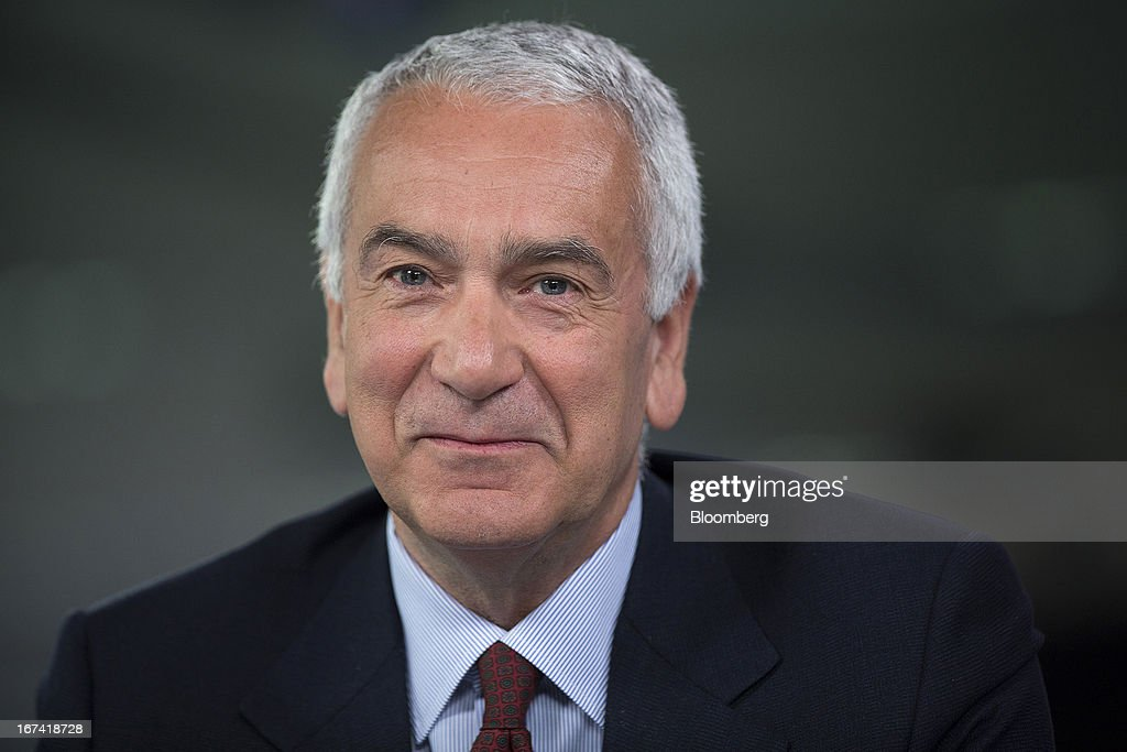 Andrea Morante, chief executive officer of Pomellato SpA, pauses during a Bloomberg Television interview in London, U.K., on Thursday, April 25, 2013. PPR SA, the French owner of Gucci, agreed to buy a majority stake in Italian jeweler Pomellato from closely held RA.MO SpA and said it may look at acquiring other watch and jewelry brands to bolster its luxury offer. Photographer: Simon Dawson/Bloomberg via Getty Images