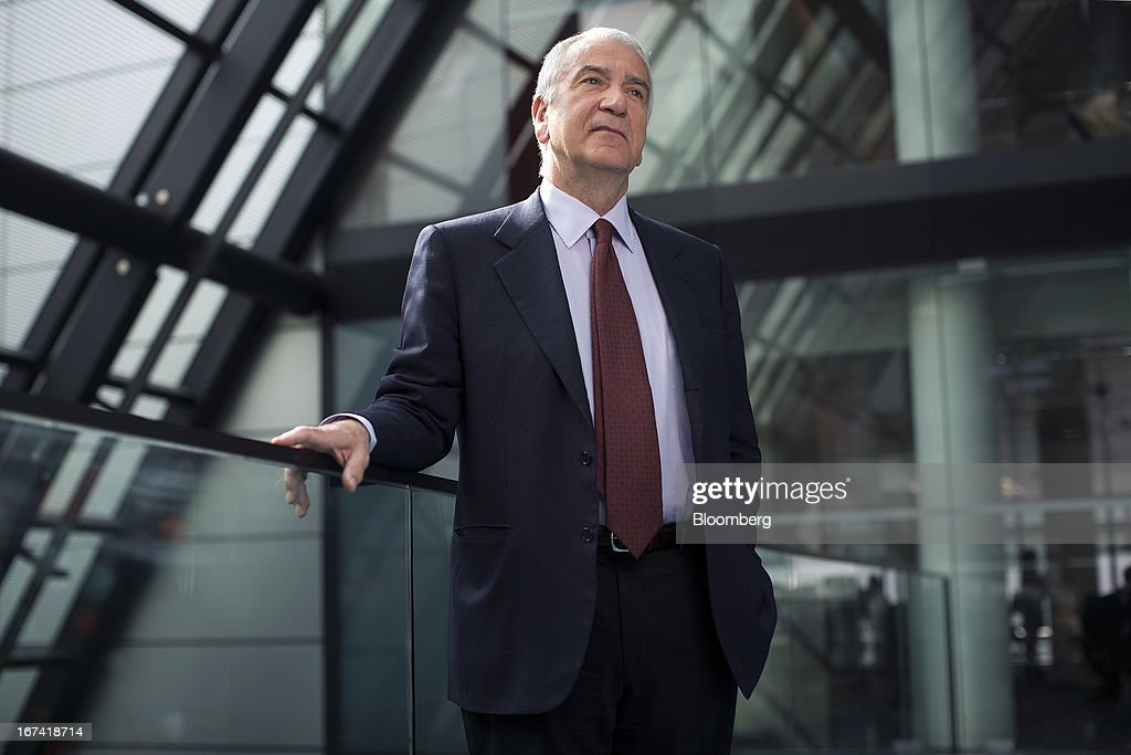 Andrea Morante, chief executive officer of Pomellato SpA, poses for a photograph following a Bloomberg Television interview in London, U.K., on Thursday, April 25, 2013. PPR SA, the French owner of Gucci, agreed to buy a majority stake in Italian jeweler Pomellato from closely held RA.MO SpA and said it may look at acquiring other watch and jewelry brands to bolster its luxury offer. Photographer: Simon Dawson/Bloomberg via Getty Images