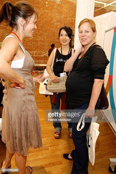 Andrea Morgan and Kelly attend Connections by Le Book at Puck Building on June 28 2006 in New York City