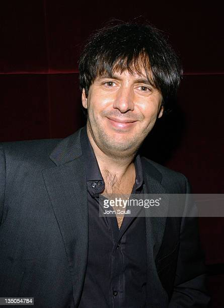 Andrea Morricone at a reception after a concert with YoYo Ma featuring the film music of Ennio Morricone with the members of the USC Thornton...