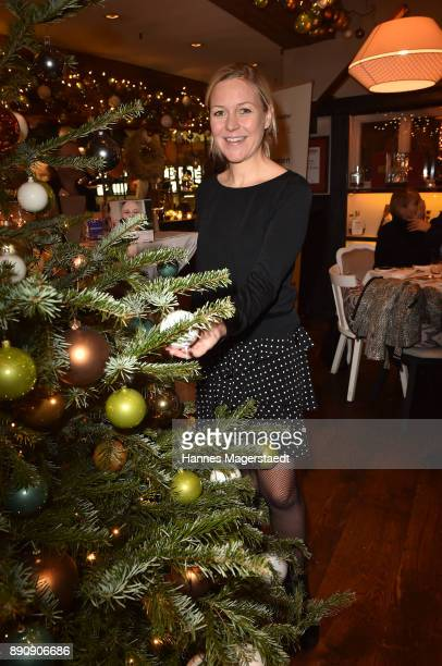 Andrea Muehlbauer attends the DKMS LIFECharity Ladies Christmas Lunch at Kaefer Schaenke on December 12 2017 in Munich Germany