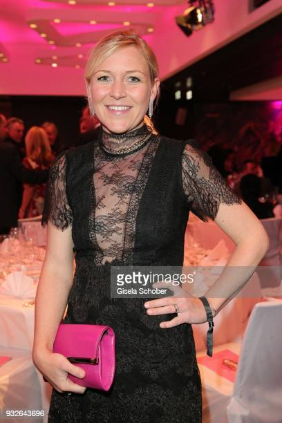 Andrea Muehlbauer during the Four Seasons Fashion Charity Dinner at Hotel Vier Jahreszeiten on March 15 2018 in Munich Germany