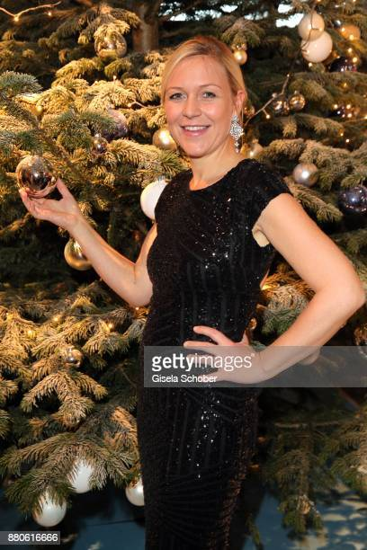 Andrea Muehlbauer former Arland during the DressHeaven 2017 Christmas party by dresscoded at Armani Caffe on November 27 2017 in Munich Germany