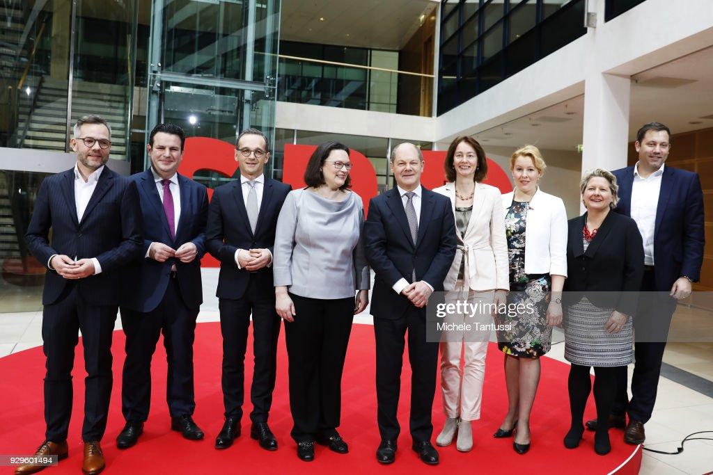 Social Democrats  Present Government Cabinet Members