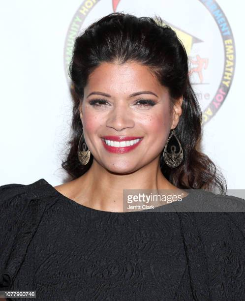 Andrea Navedo attends A Place Called Home's 18th Annual Gala For The Children at The Beverly Hilton Hotel on December 05 2018 in Beverly Hills...