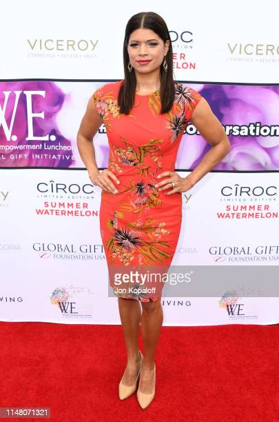 Andrea Navedo attends Eva Longoria's Global Gift Foundation Women Empowerment Luncheon at Viceroy L'Ermitage Beverly Hills on May 09 2019 in Beverly...