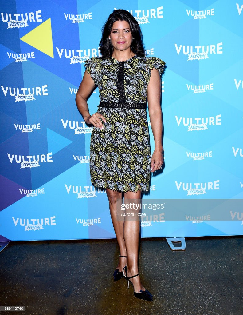 Andrea Navedo attends the 'Jane The Virgin' Screening during the Vulture Festival at Milk Studios on May 20, 2017 in New York City.