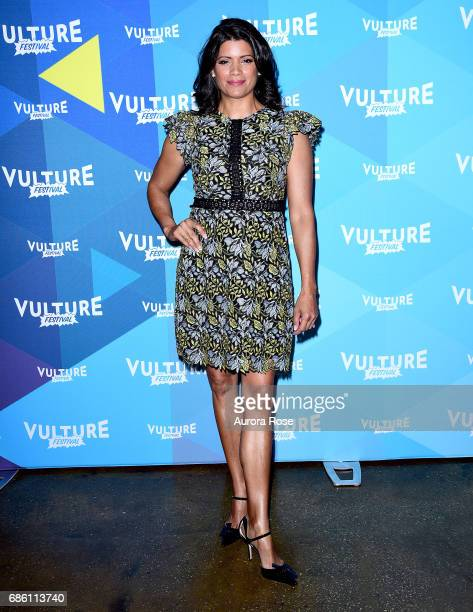 Andrea Navedo attends the 'Jane The Virgin' Screening during the Vulture Festival at Milk Studios on May 20 2017 in New York City