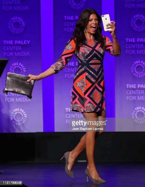 Andrea Navedo attends the Paley Center For Media's 2019 PaleyFest LA Jane The Virgin and Crazy ExGirlfriend The Farewell Seasons held at the Dolby...