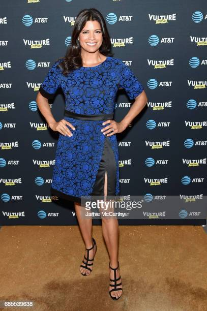 Andrea Navedo attends the Vulture Festival Opening Night Party Presented By ATT at the Top of The Standard Hotel on May 19 2017 in New York City