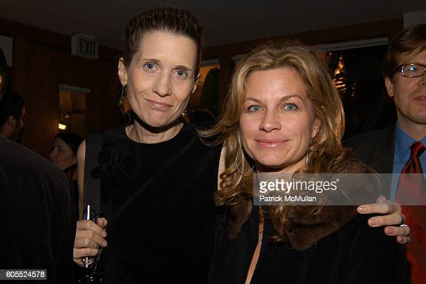 Andrea Norlander and Sonya Walger attend Lionsgate and Showtime host a celebration of Golden Globe Nominees sponsored by the Wall Street Journal...
