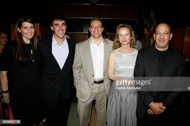 Andrea Norlander Joe Gallagher Robert Frank Marcia Mazzocchi and Larry Warsh attend The Wall Street Journal Toast to Art Basel at The Raleigh Hotel...