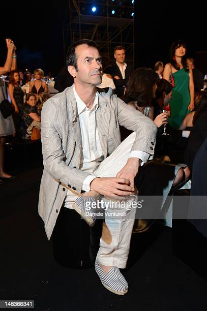 Andrea Occhipinti attend the OCTO The New Architecture of Time by Bulgari dinner at the Stadio dei Marmi on July 13 2012 in Rome Italy