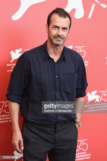Andrea Occhipinti attends 'Sulla Mia Pelle ' photocall during the 75th Venice Film Festival at Sala Casino on August 29 2018 in Venice Italy