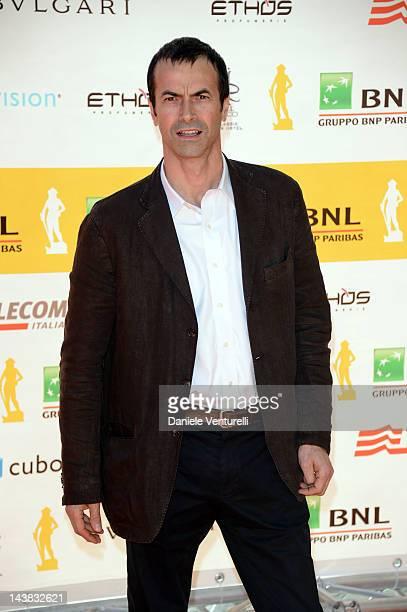 Andrea Occhipinti attends the '2012 Premi David di Donatello' movie awards at the Auditorium Conciliazione on May 4 2012 in Rome Italy