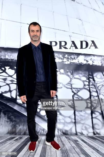 Andrea Occhipinti attends the cocktail reception to present Prada Resort 2018 collection on December 14th 2017 in Prada's Via dei Condotti stores Rome