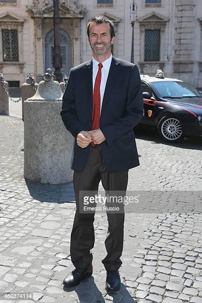 Andrea Occhipinti attends the David Di Donatello Awards Nominees At Palazzo Quirinale on June 10 2014 in Rome Italy