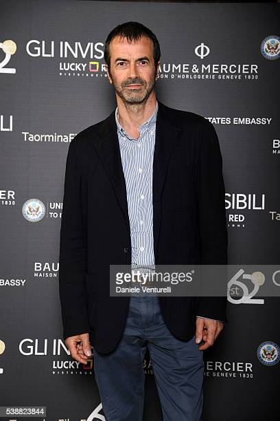 Andrea Occhipinti attends the dinner hosted by Baume Mercier to celebrate Richard Gere 'Time Out Of mind' on June 8 2016 in Rome Italy