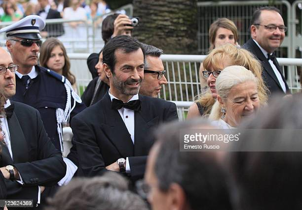 Andrea Occhipinti attends the 'Les BienAimes' premiere at the Palais des Festivals during the 64th Cannes Film Festival on May 22 2011 in Cannes...