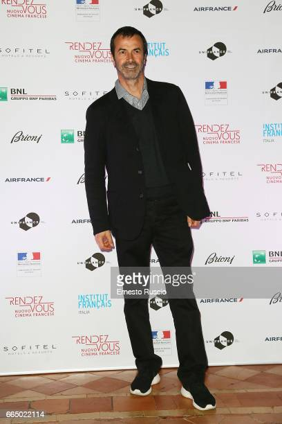 Andrea Occhipinti attends the Rendez Vous French Movies Festival 2017 opening ceremony at French Embassy on April 5 2017 in Rome Italy
