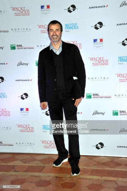 Andrea Occhipinti attends the 'RendezVous Nouveau Cinema Francais' Opening Ceremony In Romeon April 5 2017 in Rome Italy