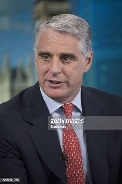 Andrea Orcel investment bank president of UBS Group AG speaks during a Bloomberg Television interview in London UK on Friday Dec 8 2017 Orcel the...