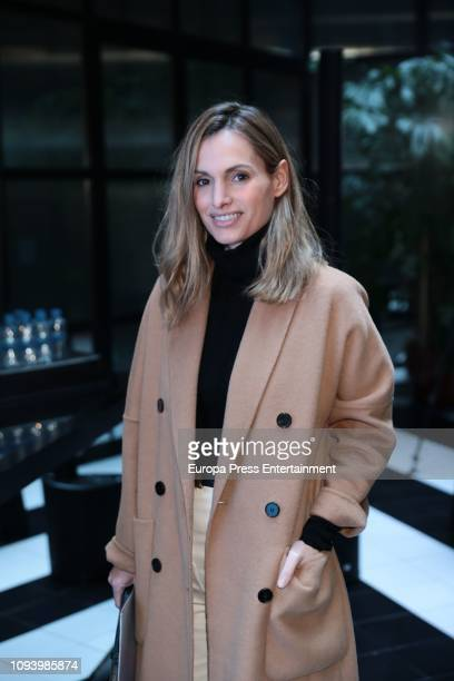 Andrea Pacual attends the 69th Mercedes Benz Fashion Week Madrid press conference at the Only You Hotel on January 11 2019 in Madrid Spain