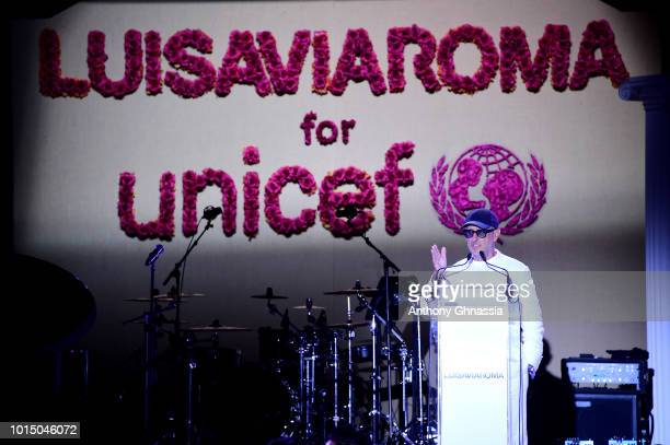 Andrea Panconesi attends the Unicef Summer Gala Presented by Luisaviaroma dinner at Villa Violina on August 10 2018 in Porto Cervo Italy