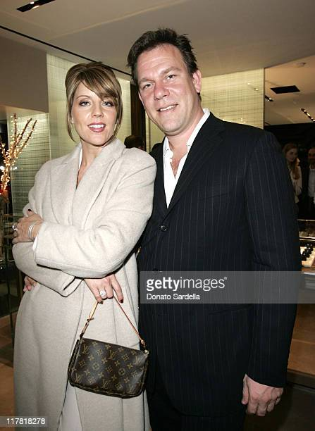 Andrea Parker and Michael Birnbaum during De Beers Celebrates The Hollywood Reporter's Women in Entertainment Power 100 at De Beers in Beverly Hills...