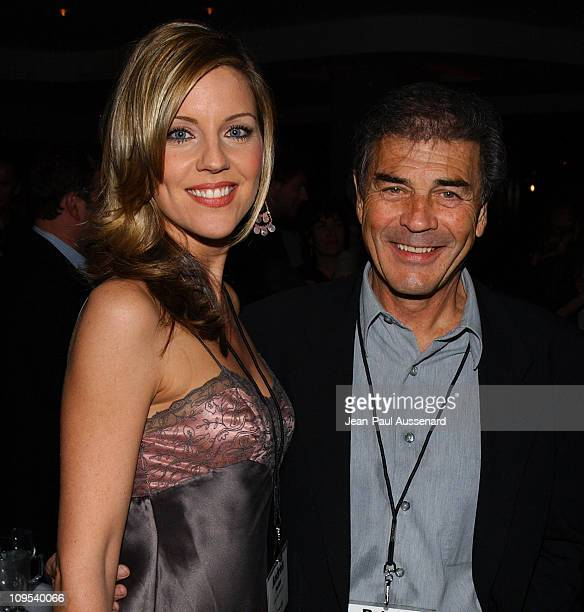 Andrea Parker and Robert Forster during ABC AllStar Party at Astra West in West Hollywood California United States