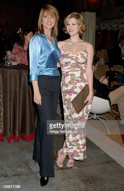 Andrea Parker and Sara Rue of 'Less Than Perfect' during 2006 ABC Network AllStar Party Arrivals and Inside at The Wind Tunnel in Pasadena California...
