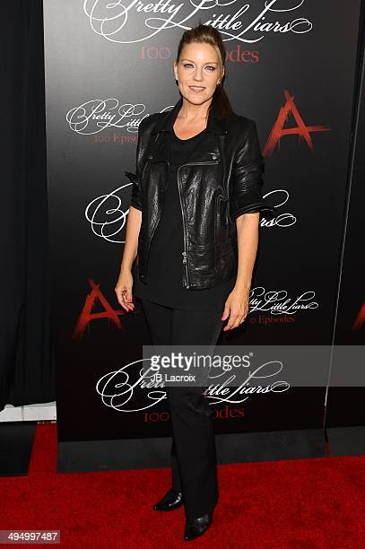 Andrea Parker attends the 'Pretty Little Liars' Celebrates 100 Episodes held at the W Hollywood Hotel on May 31 2014 in Hollywood California